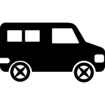 Minibús vista lateral