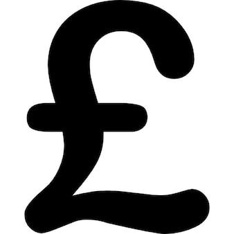 Muestra de la libra esterlina del dinero