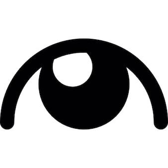 Ojo con pupila blanca
