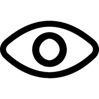 Ojo, el párpado, la pupila