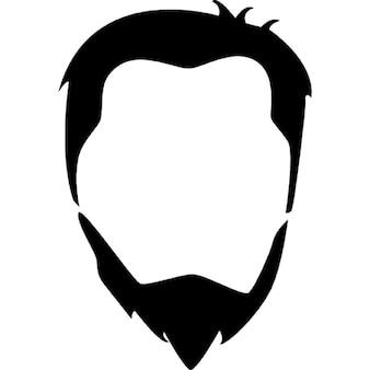 Pelo de la cabeza y la barba masculina
