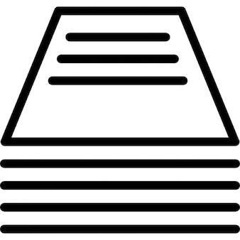 Productos de impresión de esquema hizo de diferentes líneas