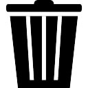 Recicle herramienta negro bin