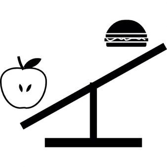 Sana vs comida chatarra