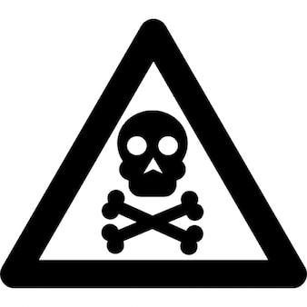Señal de peligro tóxico