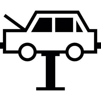 Servicio mecánico de un coche