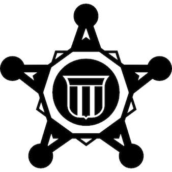 Símbolo de seguridad estrella