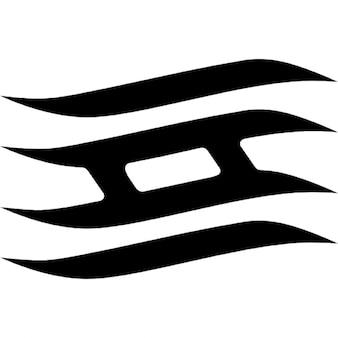 Símbolo del ninja