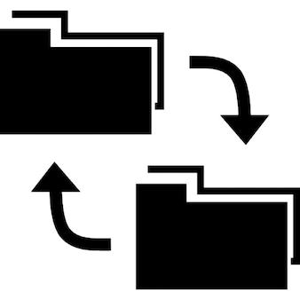 Símbolo interfaz de intercambio de datos