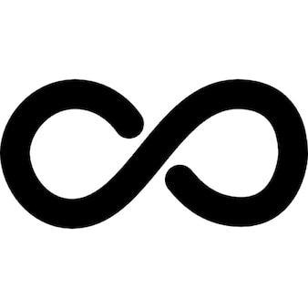 Símbolo matemático infinito