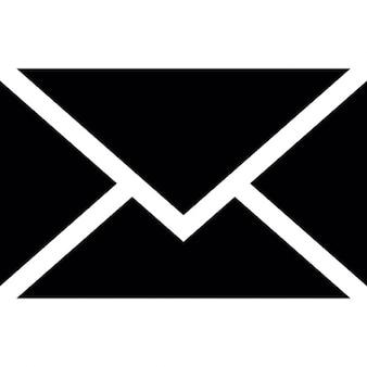Sobre de correo electrónico, ios 7 Símbolo interfaz