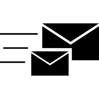 Sobres de correo pareja