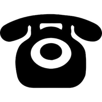 Teléfono en la versión de la vendimia