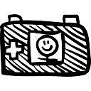 Toy cámara de fotos de nuevo