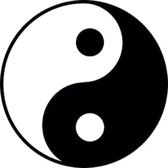 Yin yang, ios 7, símbolo