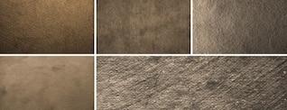 5 Haute Résolution Grungy textures de papier