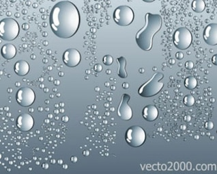l'eau vecteur action chute