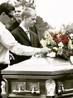 laissés pour compte, funérailles