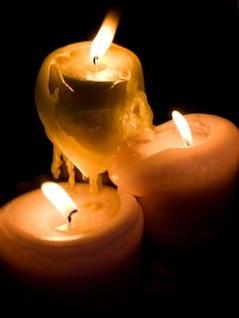 bougies, faire fondre