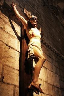 jésus statue