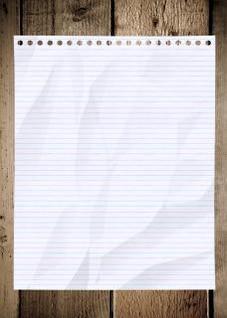 la texture du papier froissé