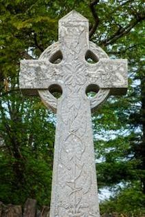 donegal cimetière croix celtique hdr catholique