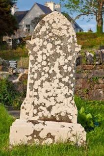 donegal cimetière pierre tombale d'orange