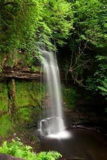 Glencar chutes de fond