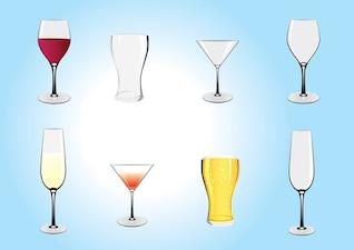 illustrations des boissons