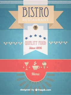 Rétro conception de menu bistro