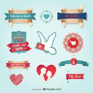 Le message du jour de valentine