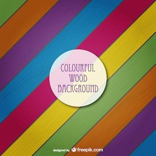 Coloré texture de bois