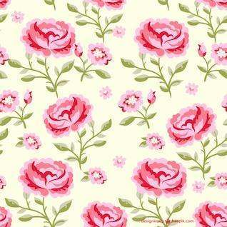 Fleurs seamless illustration