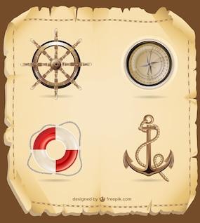 Vecteur de mer Voyage graphiques