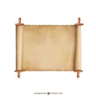 Vecteur de fond de papyrus