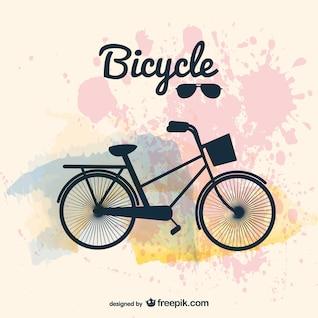 Vecteur d'image de conception de bicyclette