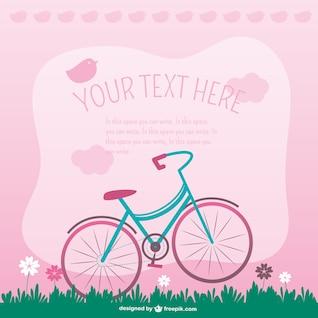 Vecteur vélo doux illustration