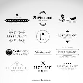 Vecteur restaurant Série