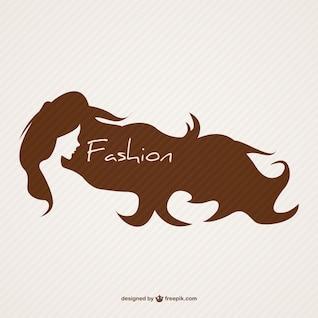 Emblème de vecteur de coiffure