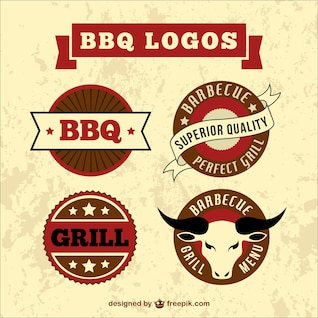 Badges de qualité de barbecue