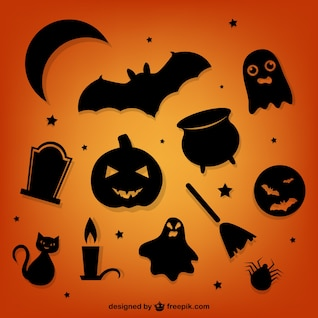 Silhouettes Halloween Pack