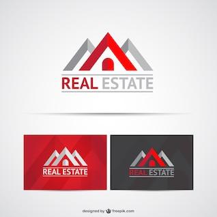 Etat réel modèles de logo