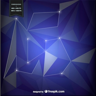 Fond violet avec des formes géométriques