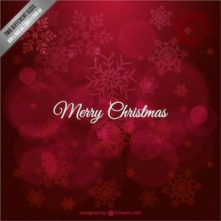Fond de Noël avec des flocons de libre