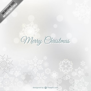 Fond de Noël blanc sans