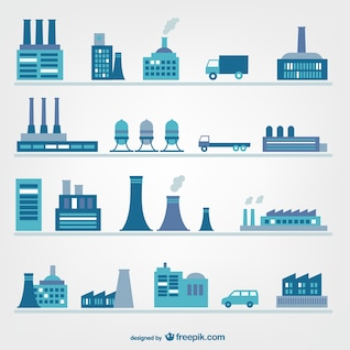 Des usines et des icônes de l'industrie