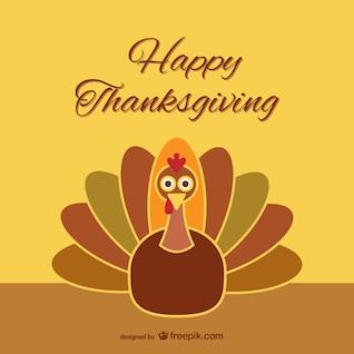 Thanksgiving de bande dessinée de dinde