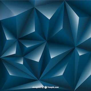 3d triangle fond