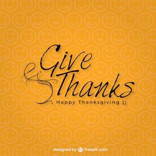 Thanksgiving minimaliste jour typographie