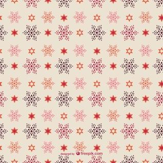 Noël modèle modifiable avec des flocons de neige